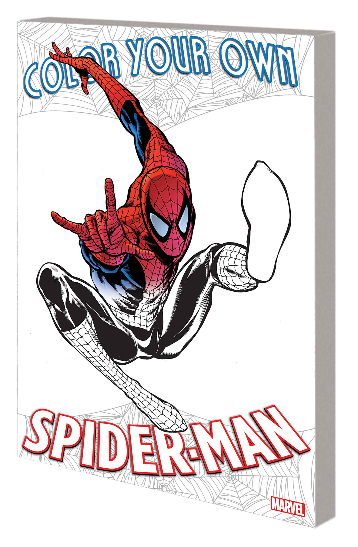 COLOR YOUR OWN SPIDER-MAN TP