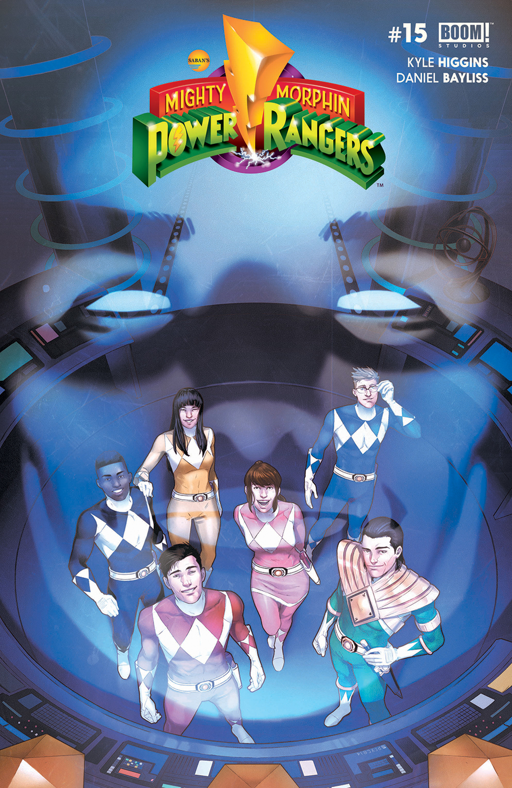 MIGHTY MORPHIN POWER RANGERS #15 MAIN CVR