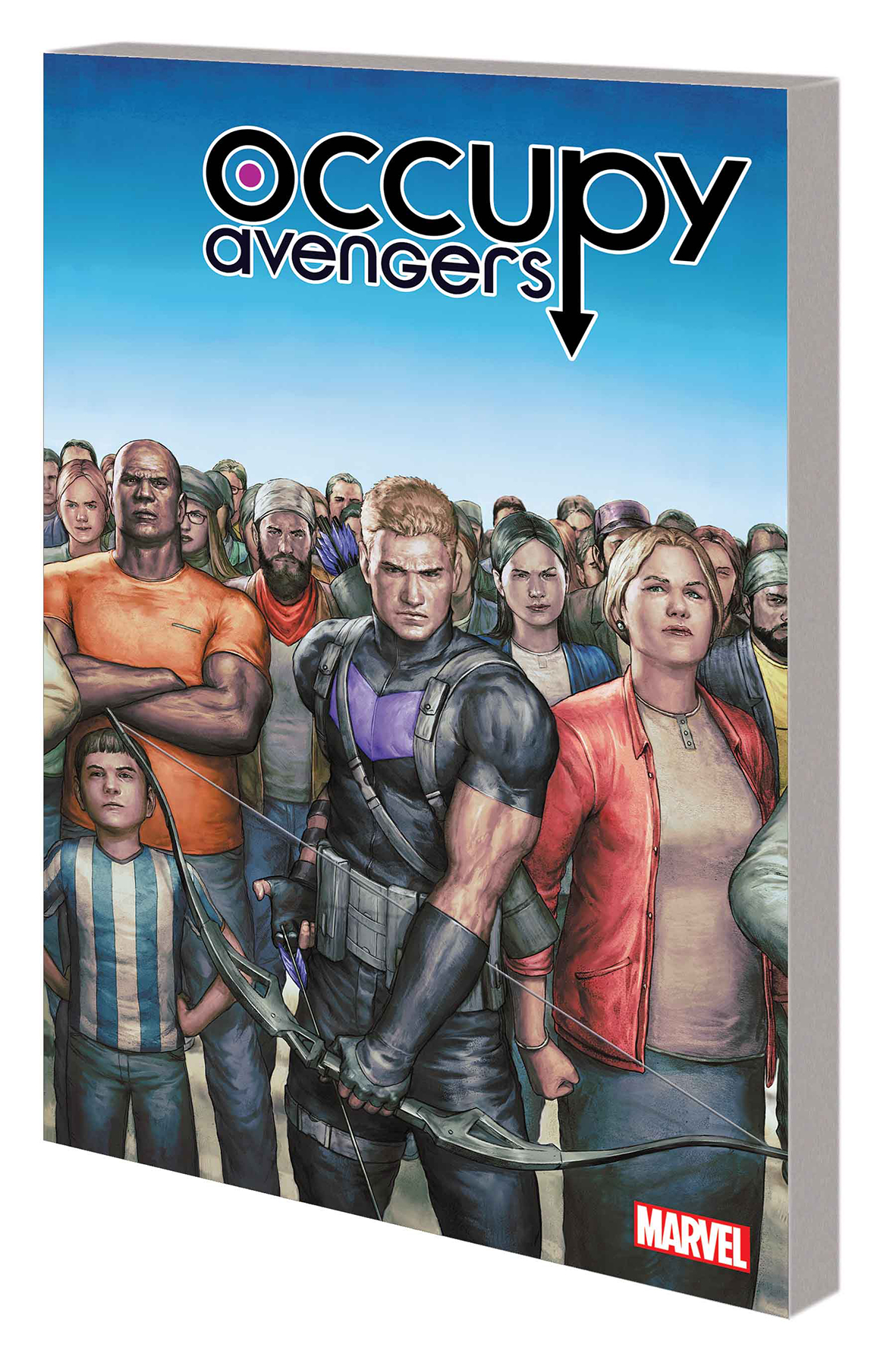 OCCUPY AVENGERS TP VOL 01 TAKING BACK JUSTICE