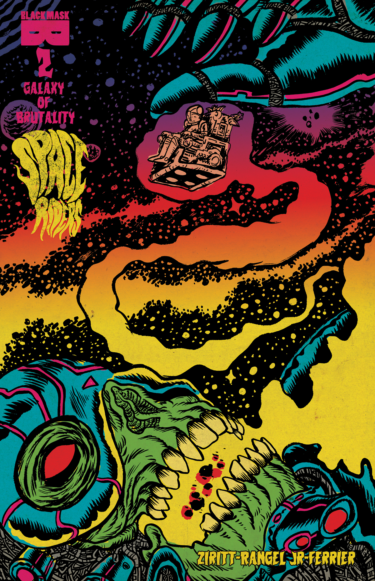 SPACE RIDERS GALAXY OF BRUTALITY #2
