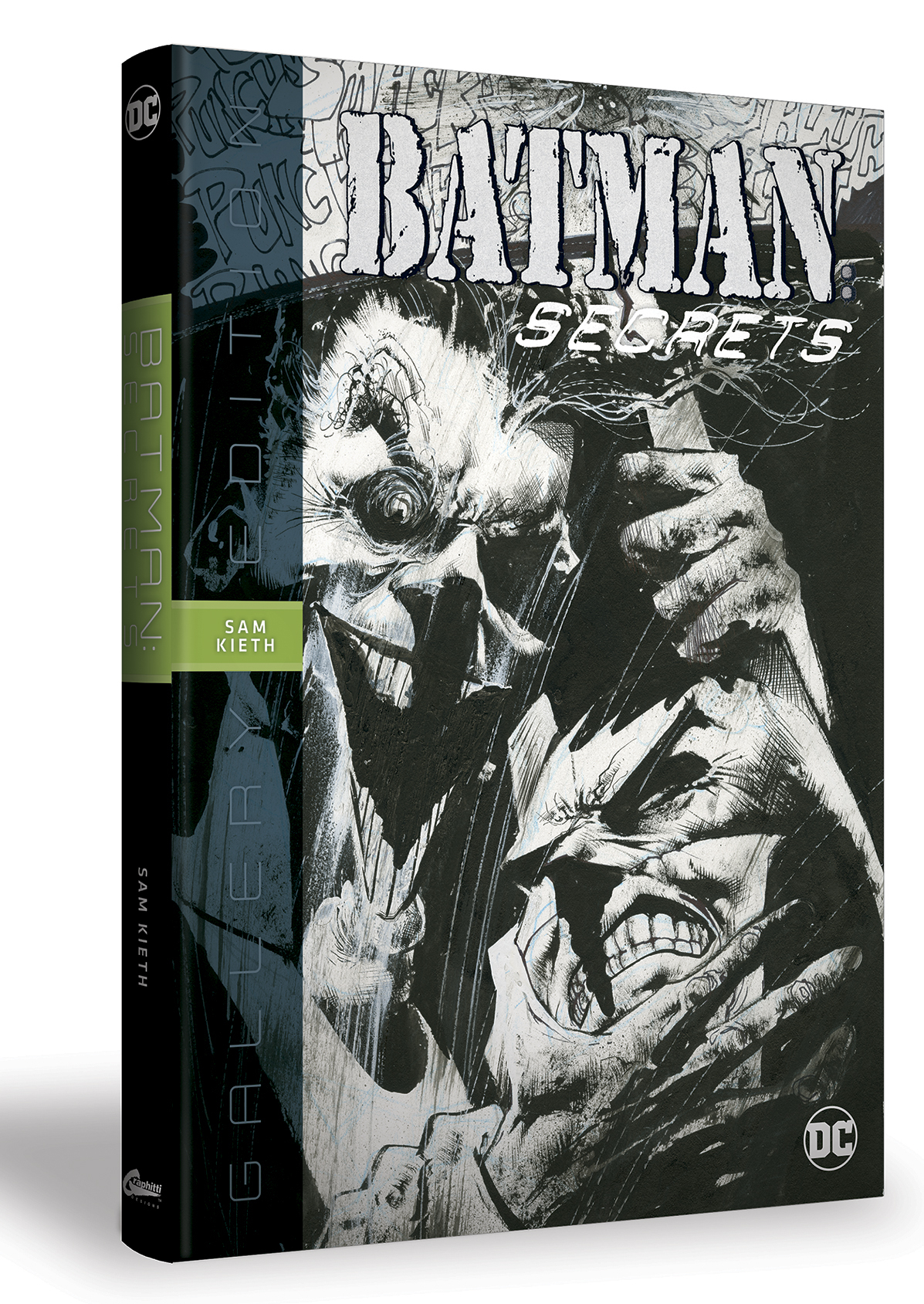 BATMAN SECRETS SAM KIETH GALLERY ED HC (MAR170443)