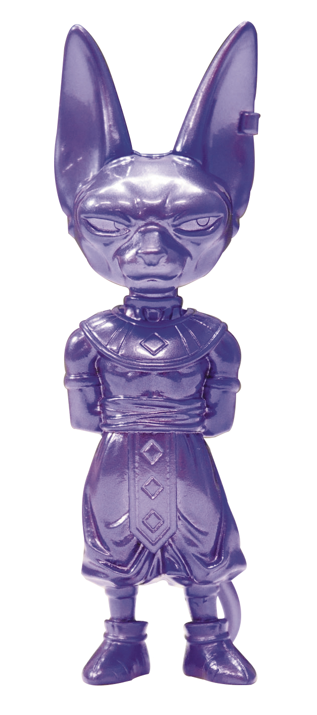 ABSOLUTE CHOGOKIN DB SUPER DZ-11 BEERUS MINI FIG