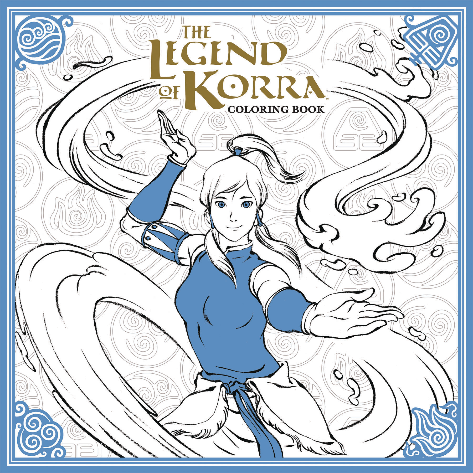 LEGEND OF KORRA COLORING BOOK TP (MAR170062)