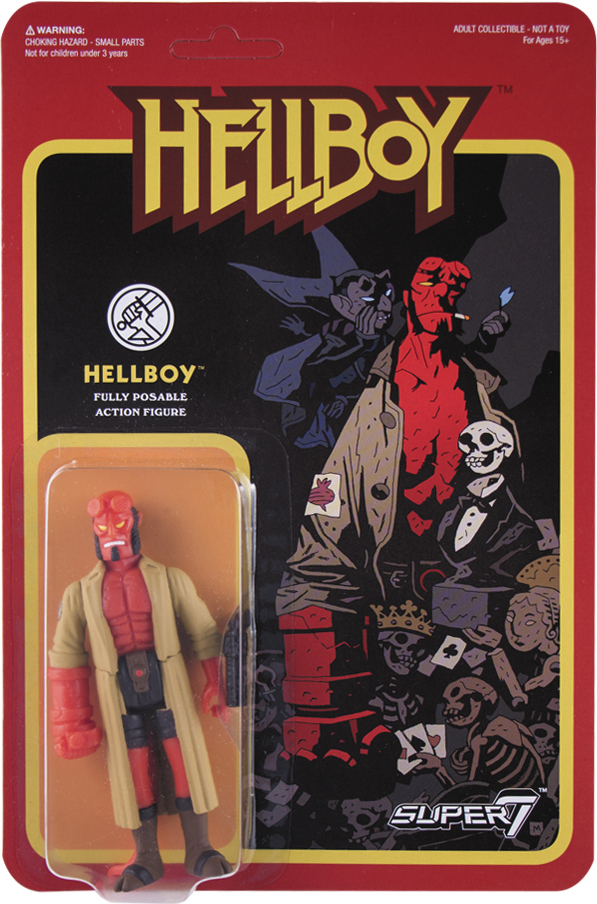 REACTION HELLBOY HELLBOY ACTION FIGURE WAVE 1