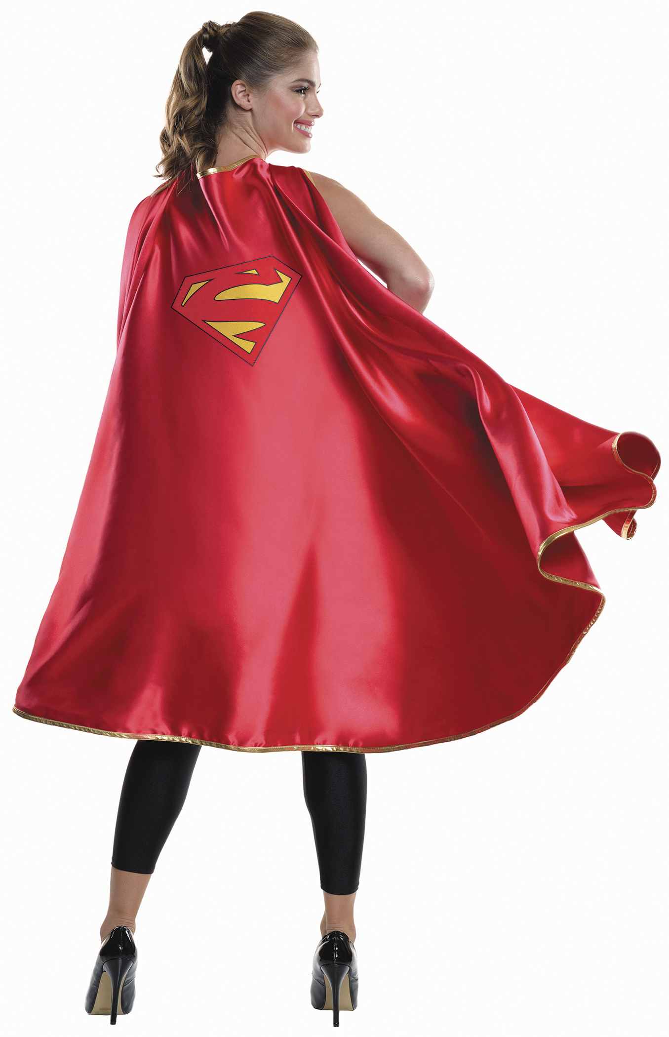 DC HEROES SUPERGIRL COSTUME LONG CAPE