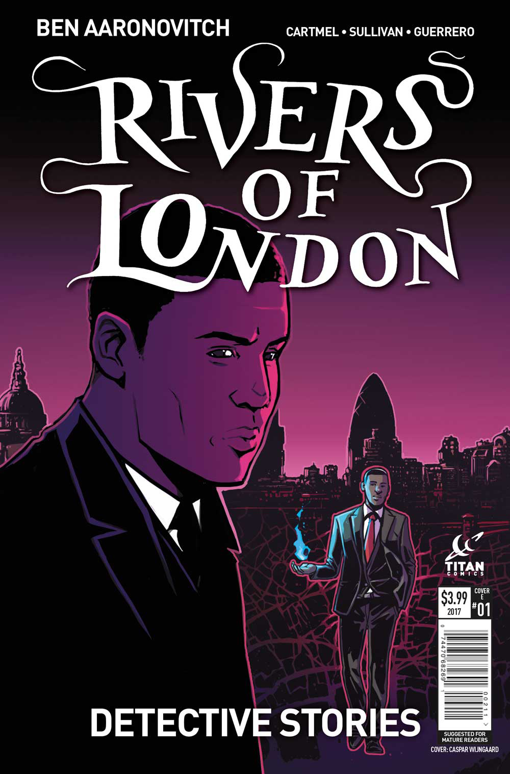 RIVERS OF LONDON DETECTIVE STORIES #1