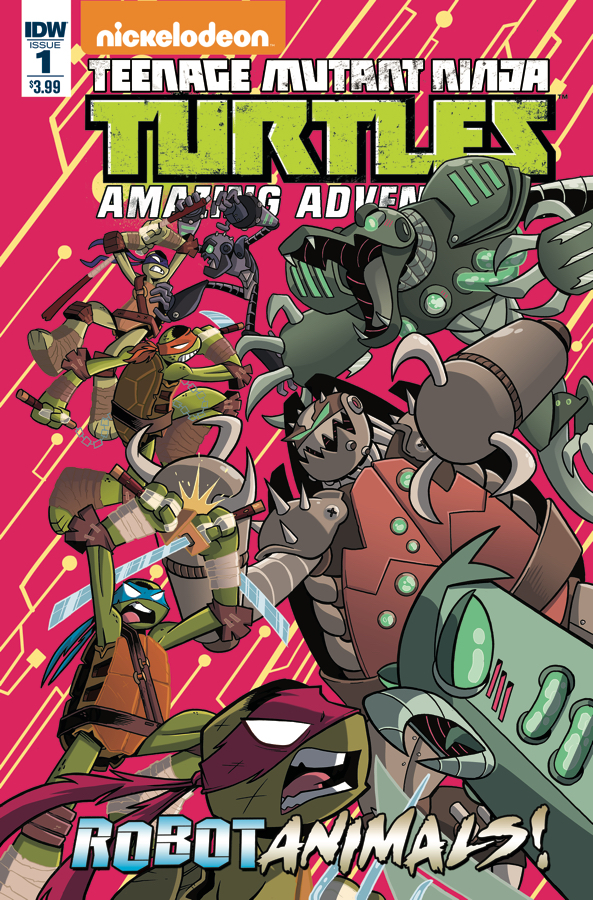TMNT AMAZING ADVENTURES ROBOTANIMALS #1
