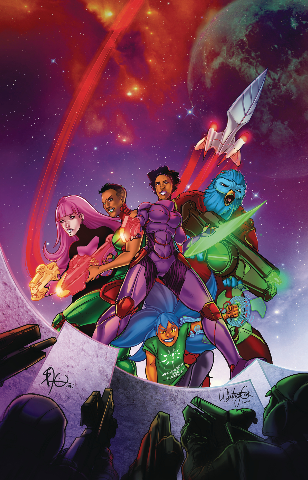 GALAXYS FOR HIRE TP VOL 01