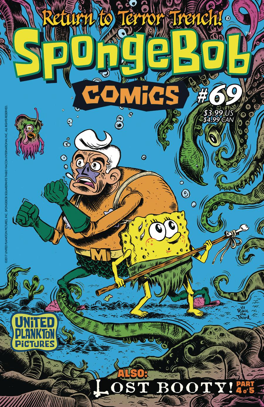 apr171379 spongebob comics 69 previews world