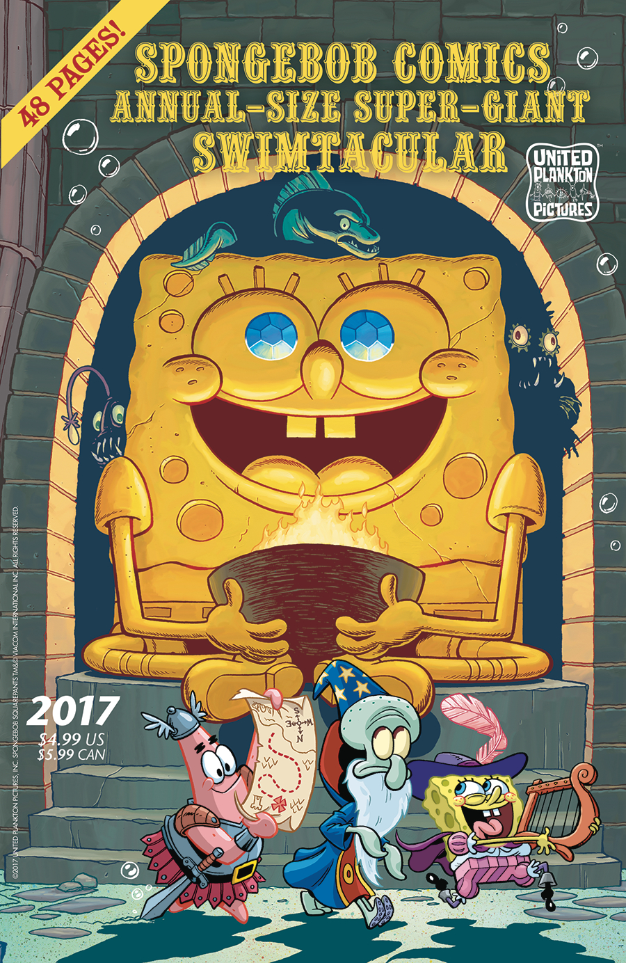 SPONGEBOB COMICS ANNUAL GIANT SWIMTACULAR #5