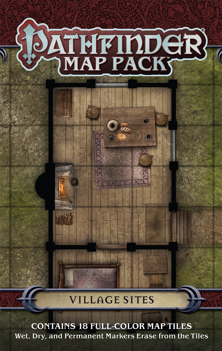PATHFINDER MAP PACK VILLAGE SITES