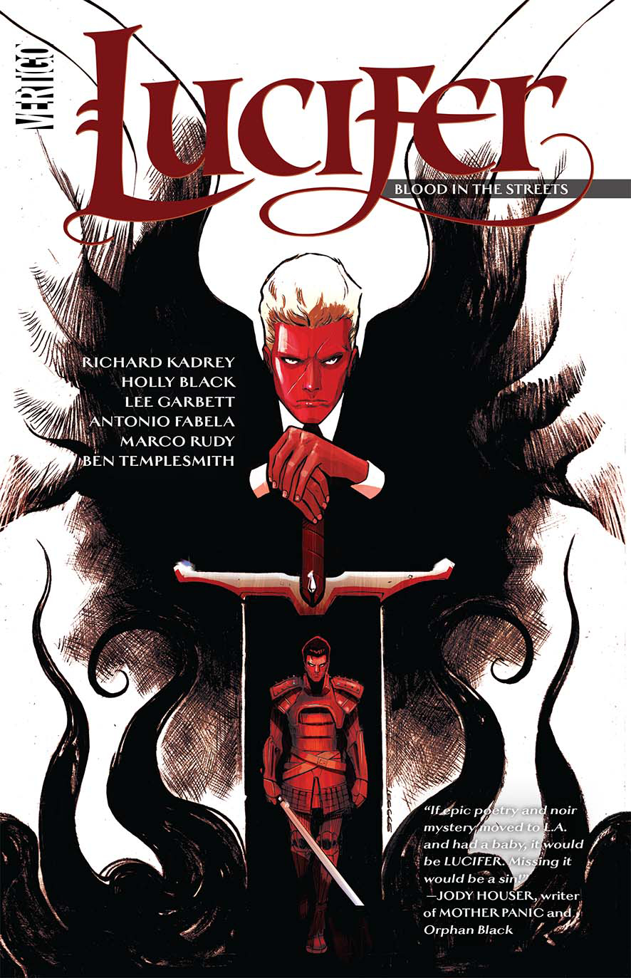 LUCIFER TP VOL 03 BLOOD IN THE STREETS (MR)