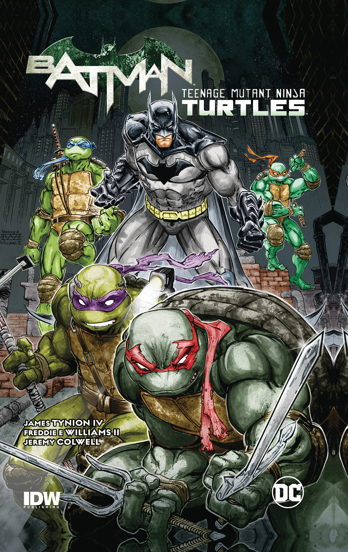 BATMAN TMNT TP VOL 01