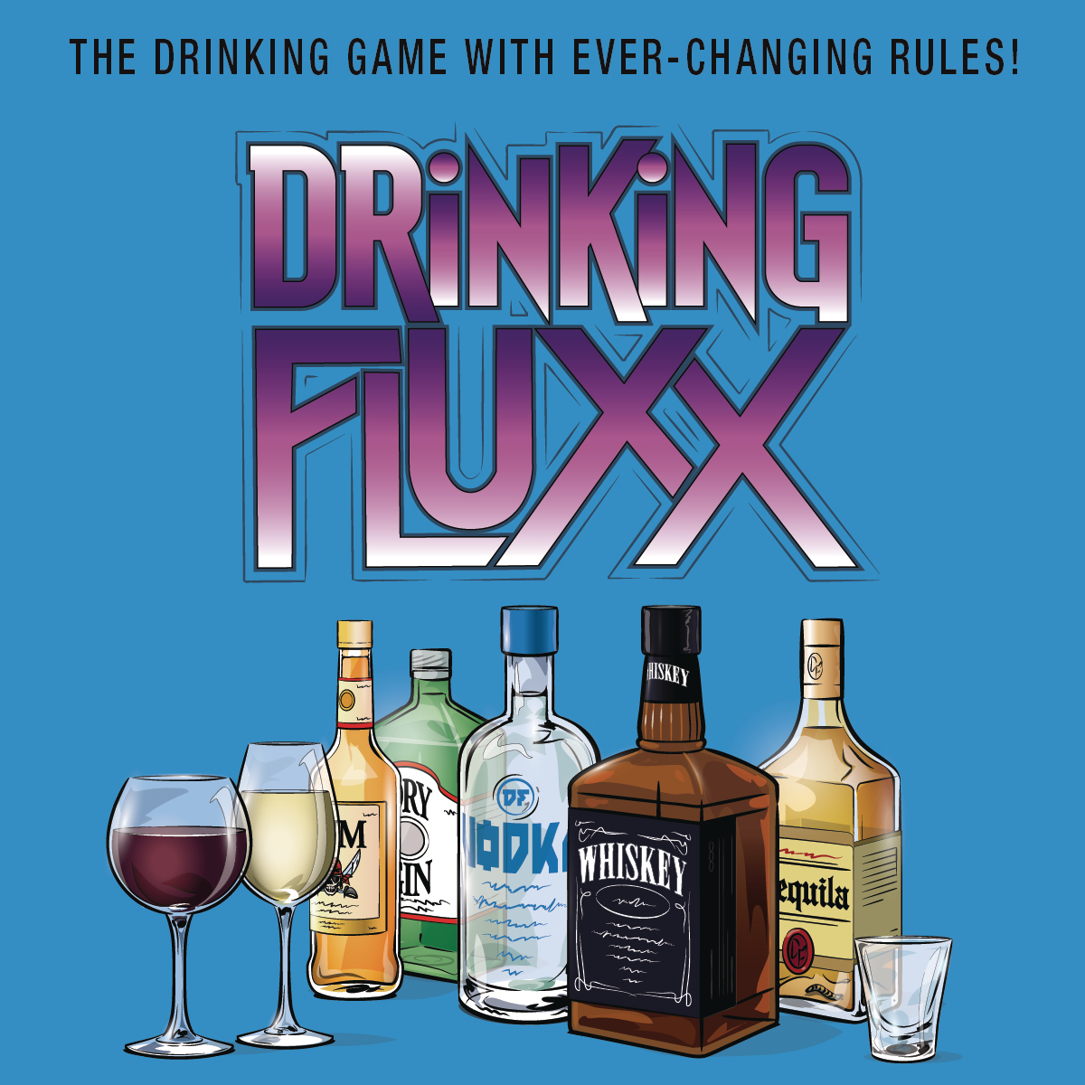 DRINKING FLUXX CARD GAME 6CT DIS