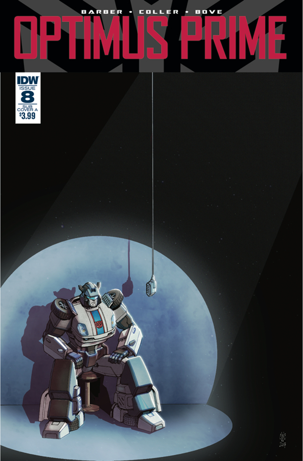 OPTIMUS PRIME #8 SUBSCRIPTION VAR A