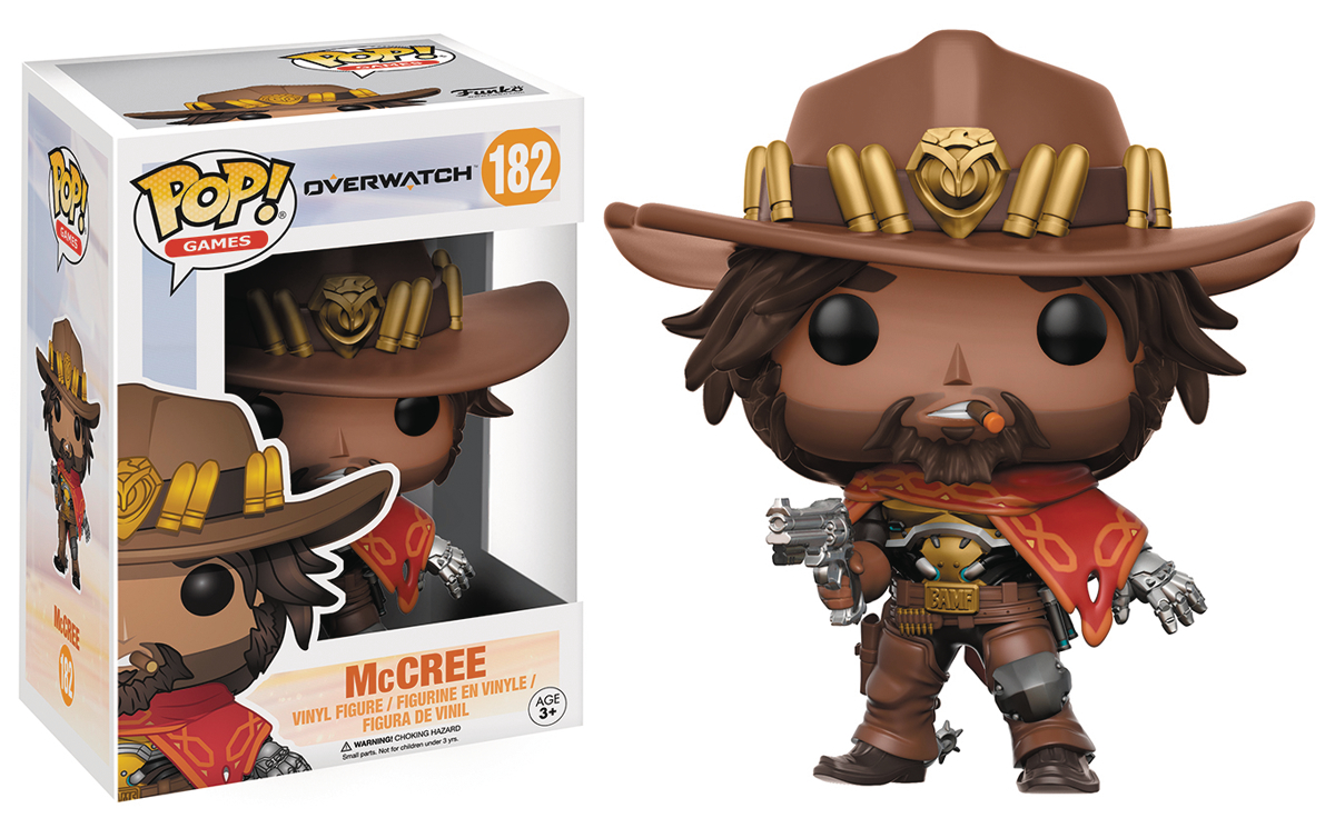 POP OVERWATCH MCCREE VINYL FIG