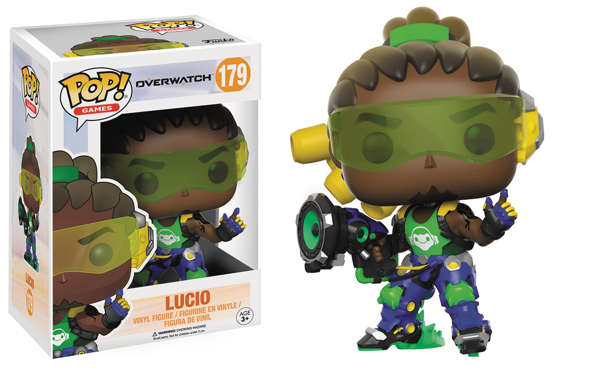 POP OVERWATCH LUCIO VINYL FIG