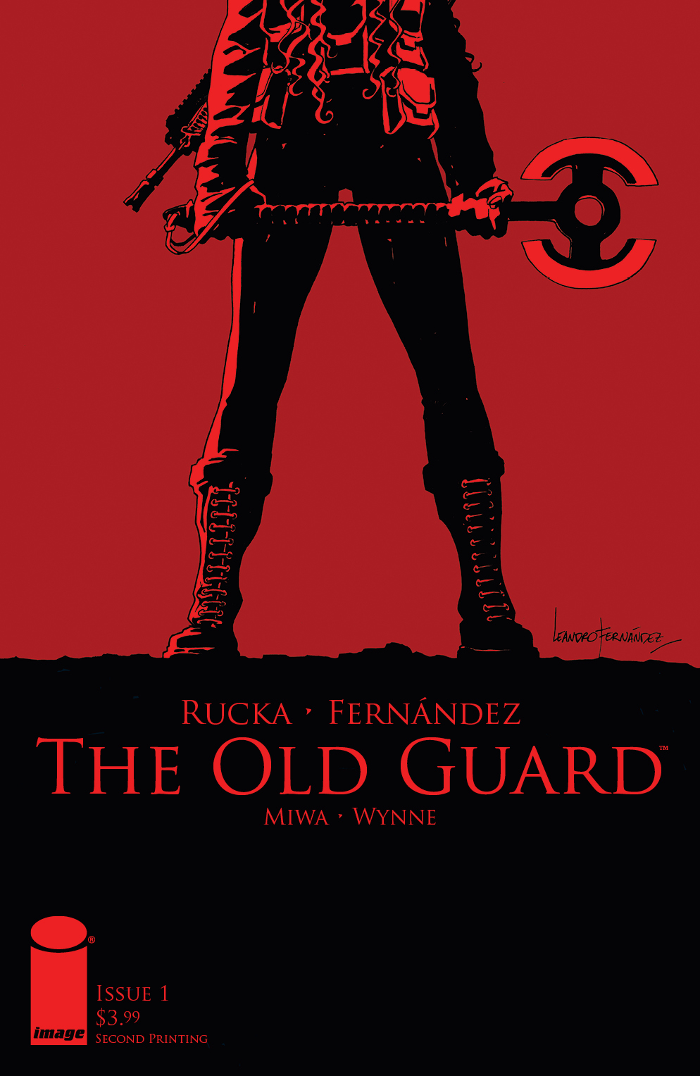 OLD GUARD #1 2ND PTG