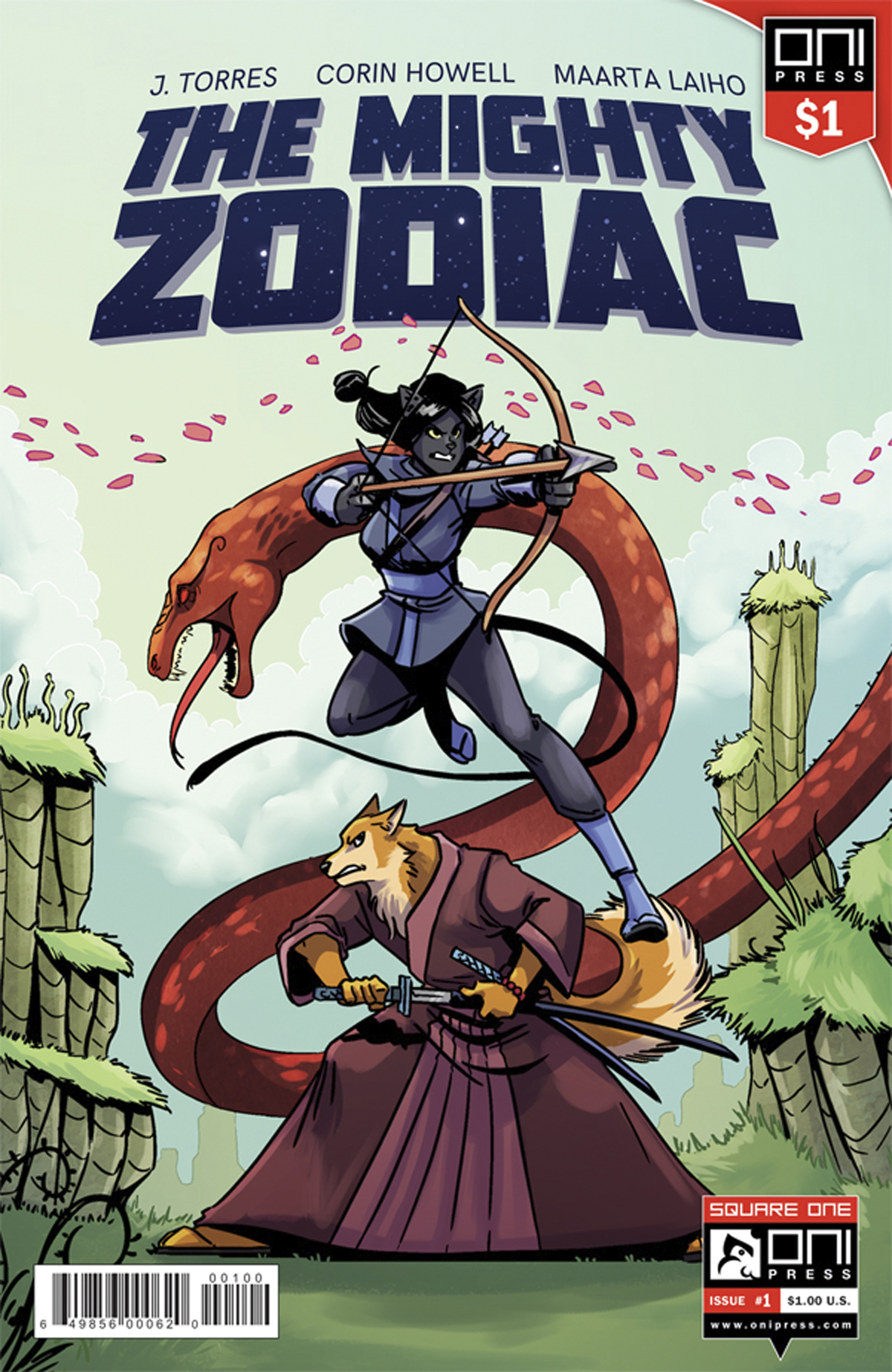 MIGHTY ZODIAC #1 1 DOLLAR ED