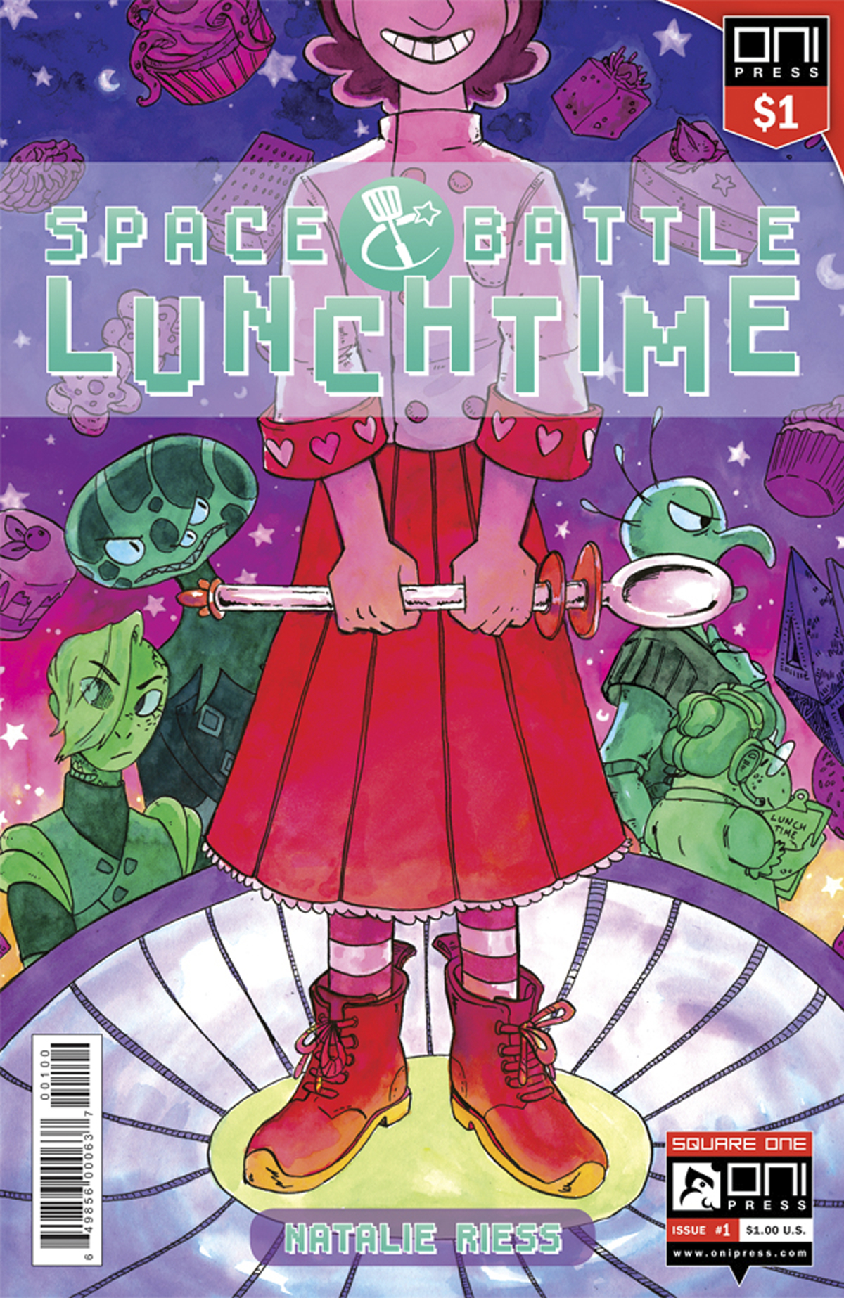 SPACE BATTLE LUNCHTIME #1 1 DOLLAR ED