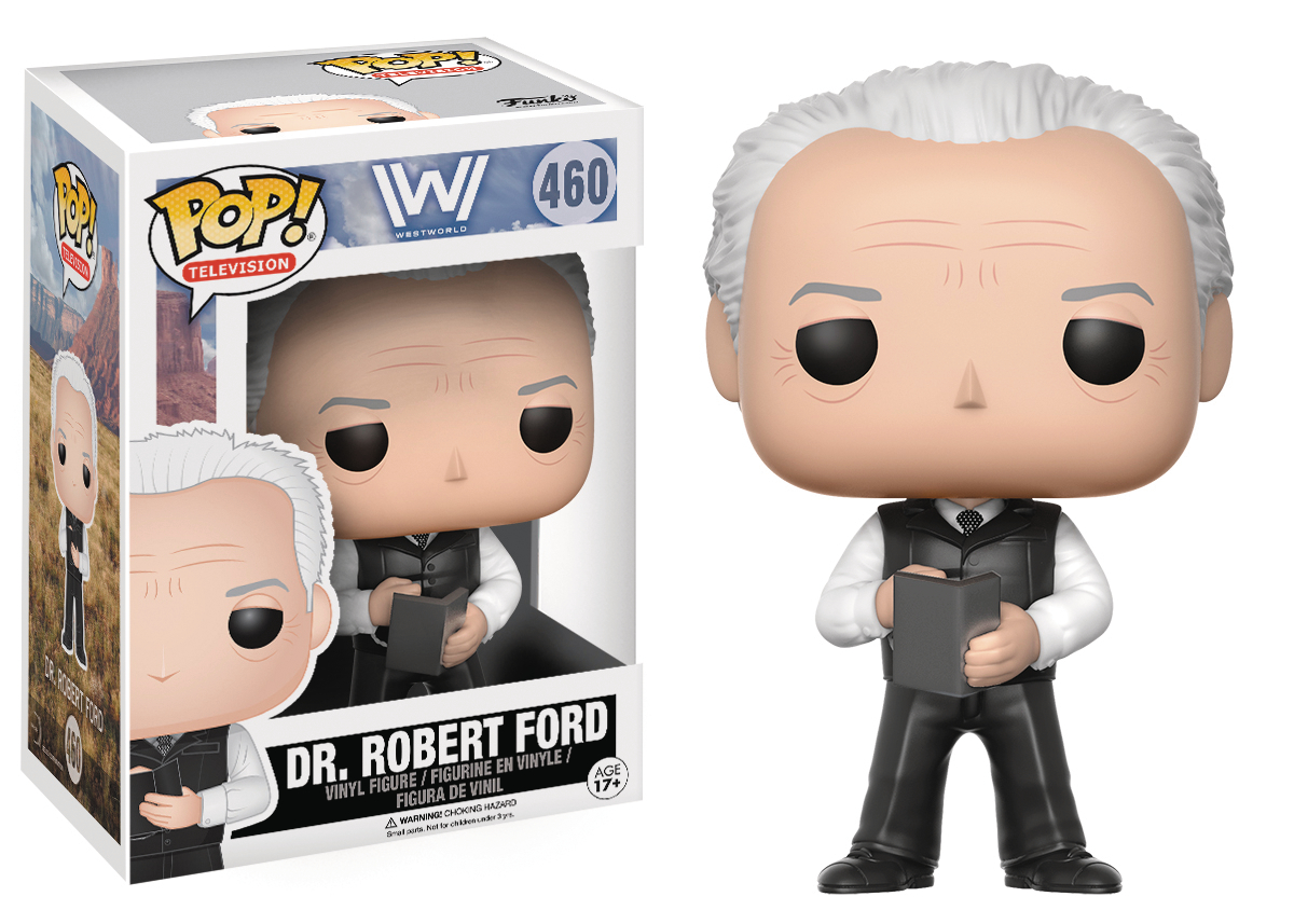 POP WESTWORLD DR ROBERT FORD VINYL FIG