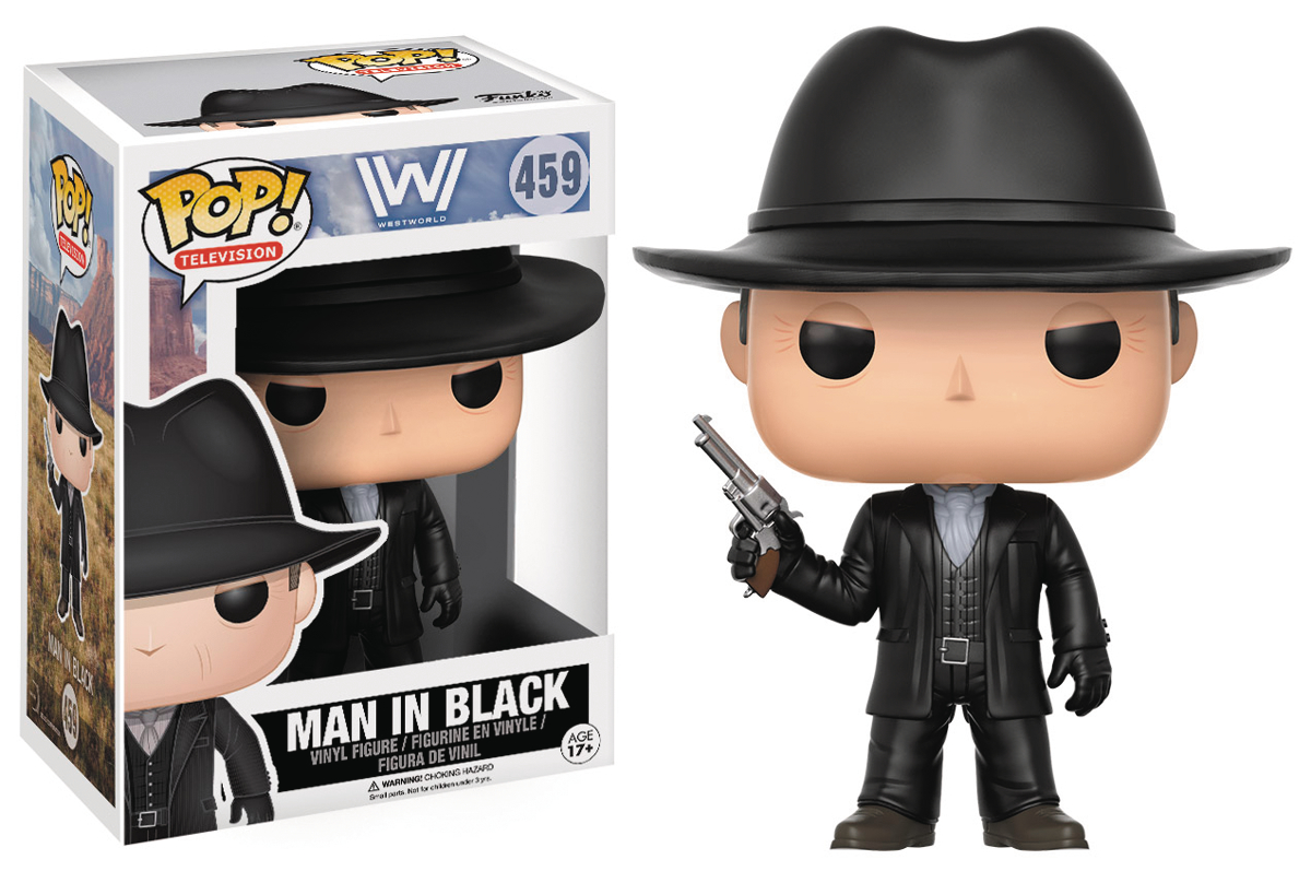 POP WESTWORLD MAN IN BLACK VINYL FIG