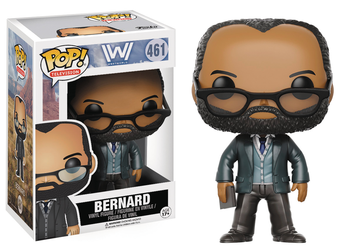 POP WESTWORLD BERNARD LOWE VINYL FIG