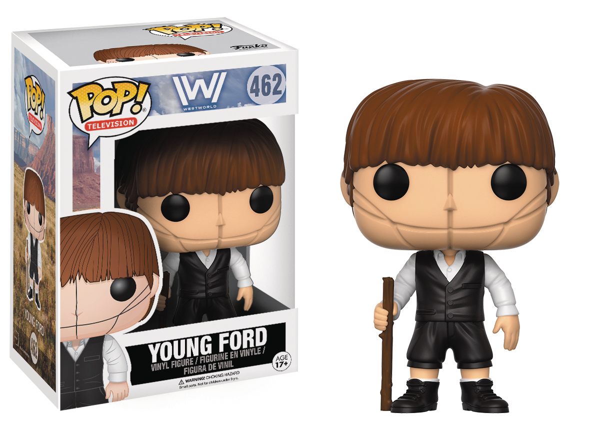 POP WESTWORLD YOUNG DR FORD VINYL FIG