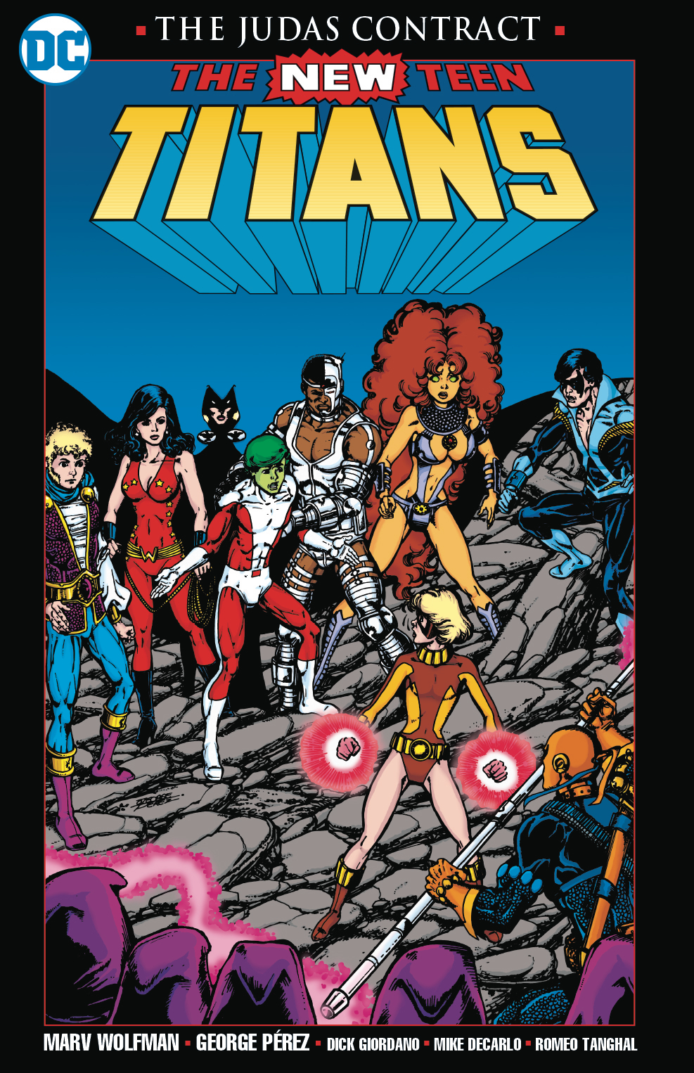 NEW TEEN TITANS THE JUDAS CONTRACT NEW PTG (JAN178493)