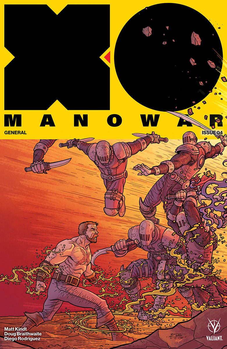 X-O MANOWAR (2017) #4 (NEW ARC) CVR C 20 COPY INCV INTERLOCK