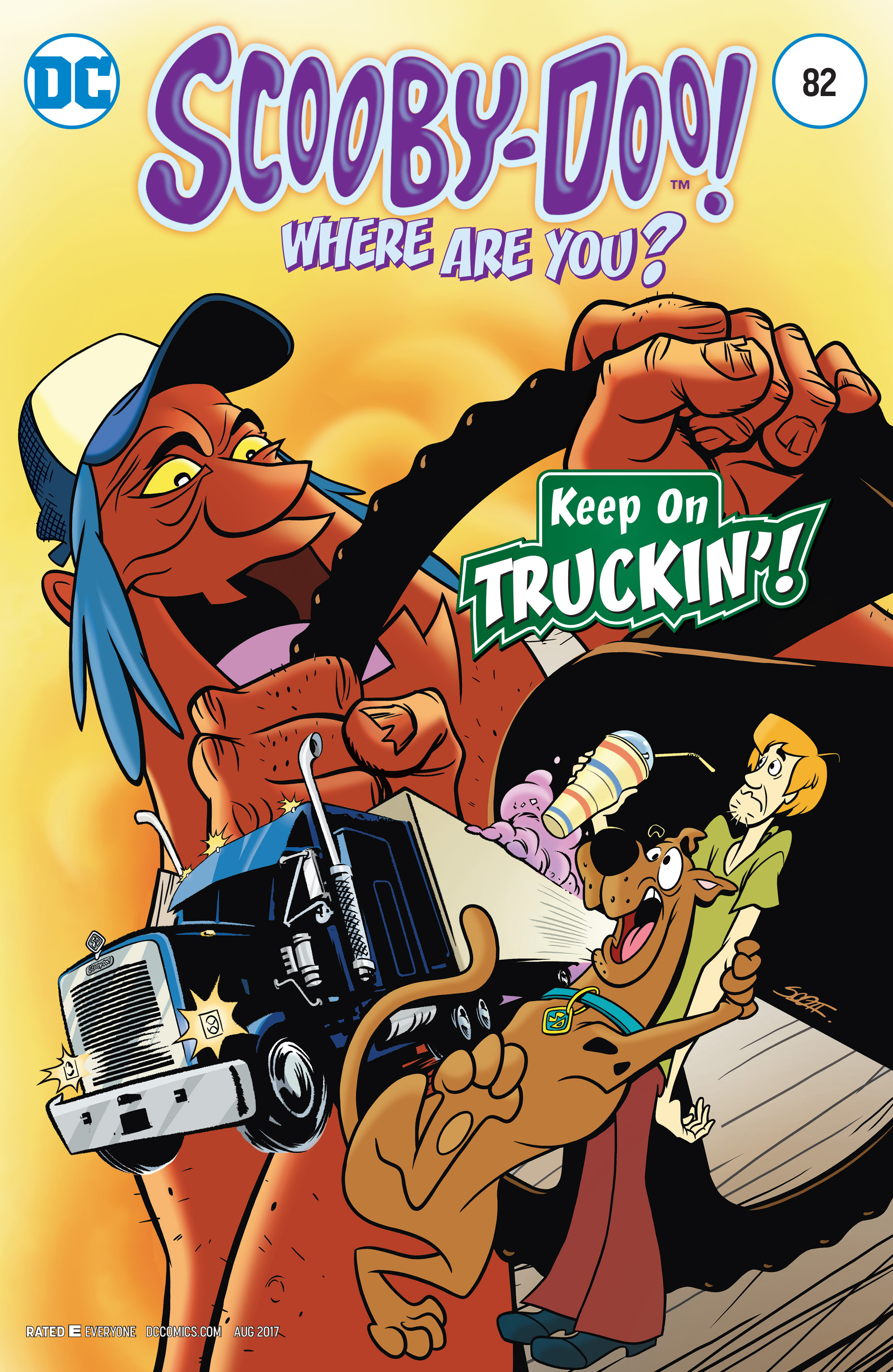 APR170396 - SCOOBY DOO WHERE ARE YOU #82 - Previews World