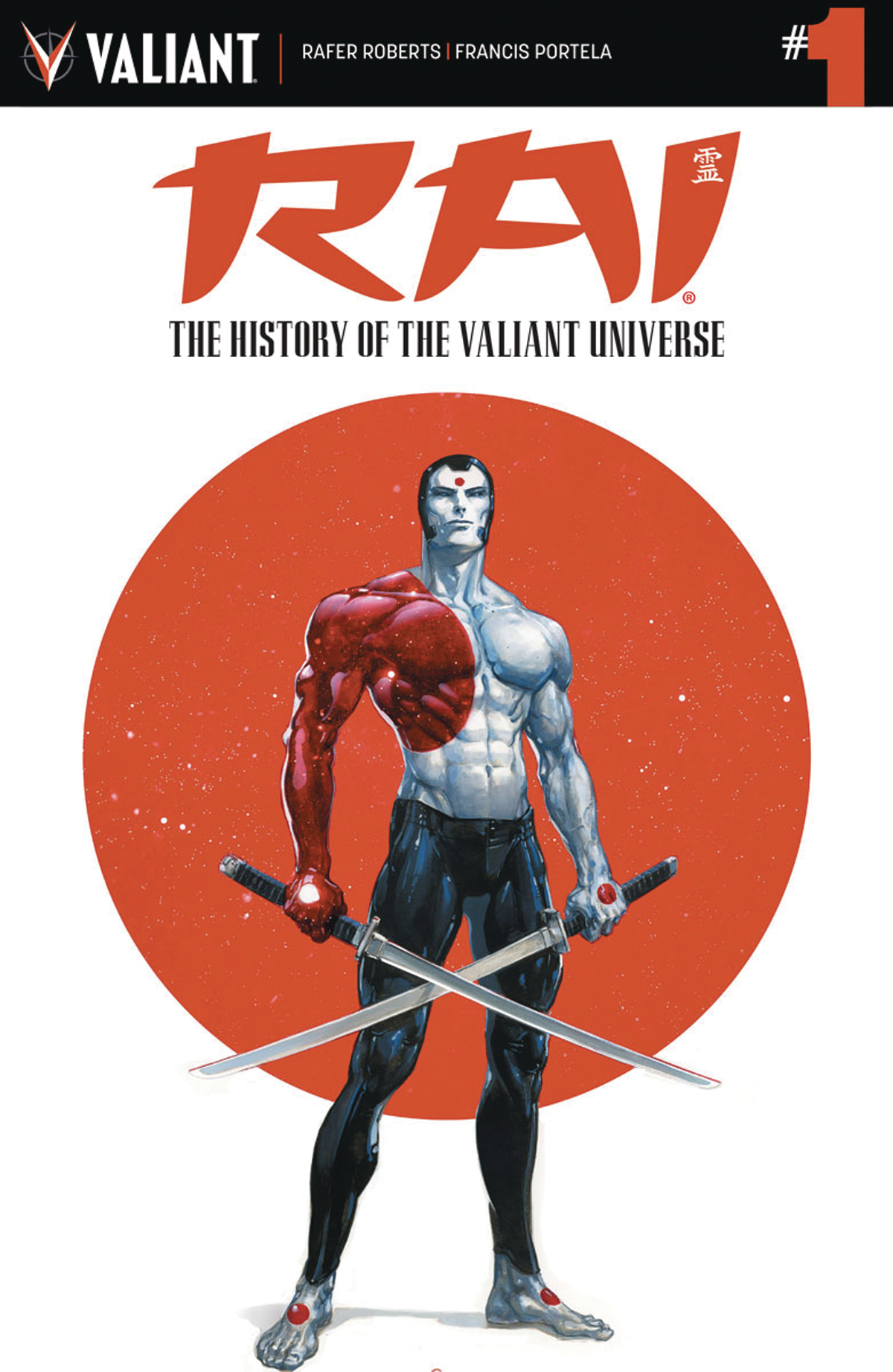 RAI HISTORY OF VALIANT UNIV #1