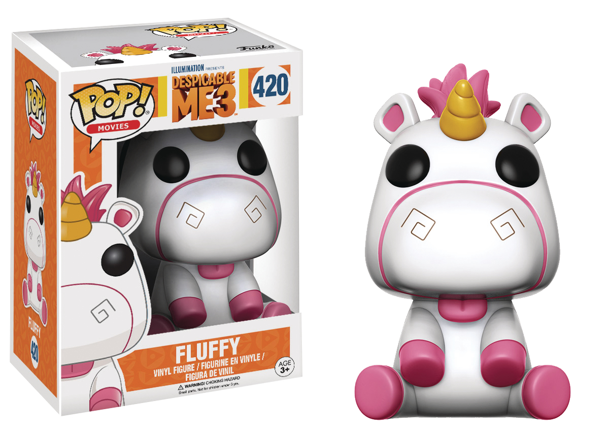 POP DESPICABLE ME 3 FLUFFY VINYL FIG