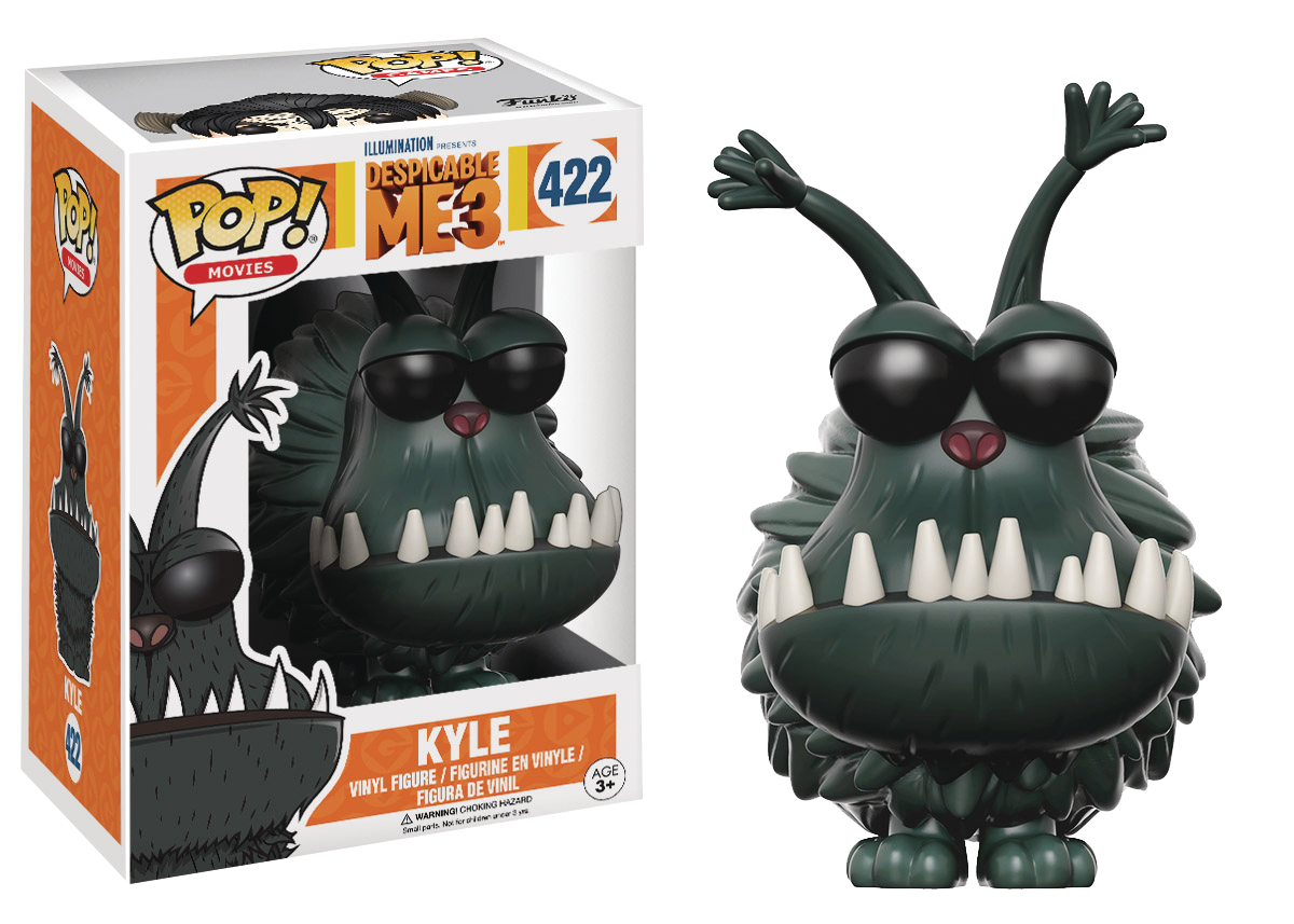 POP DESPICABLE ME 3 KYLE VINYL FIG