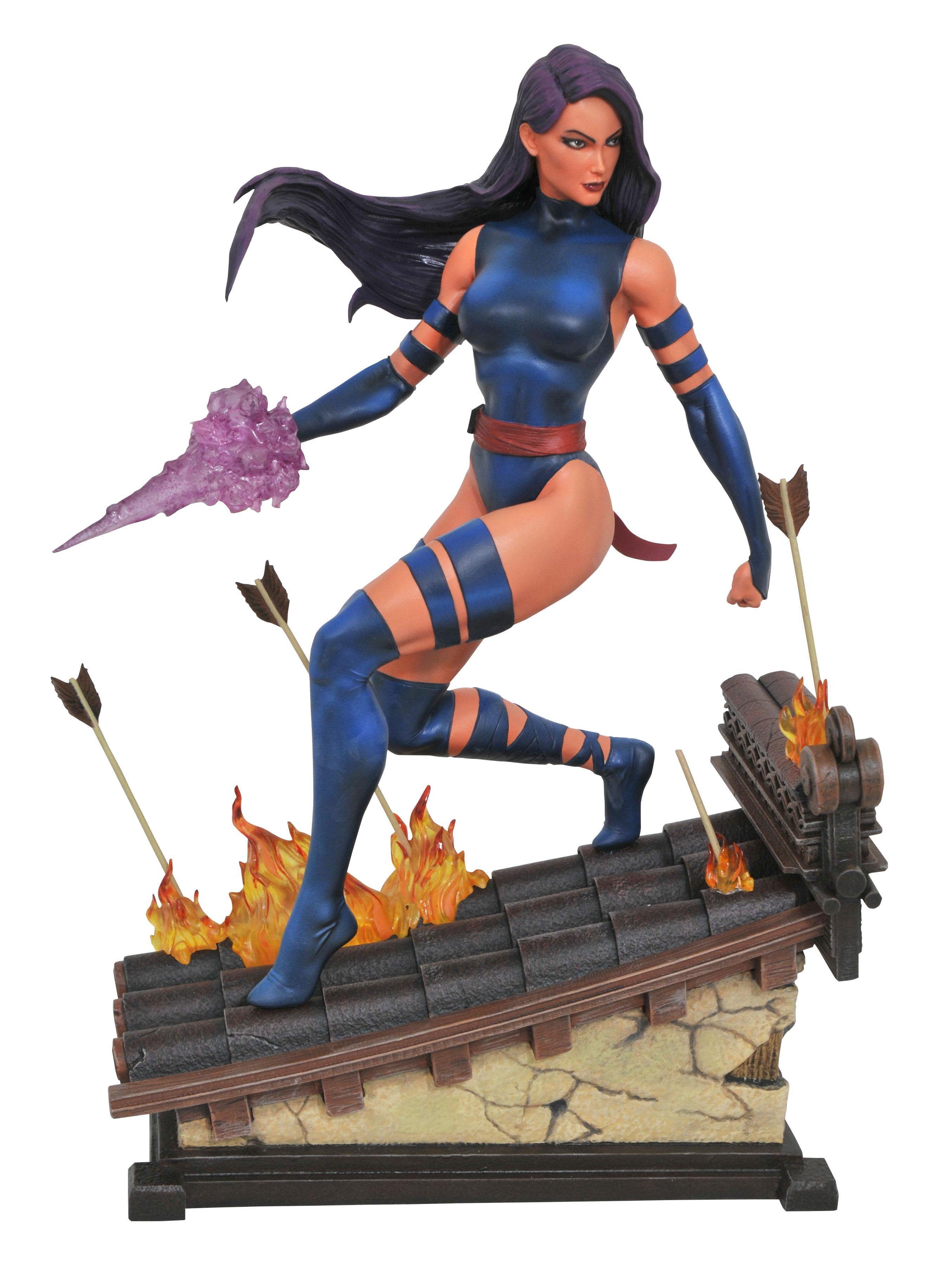 Apr172652 Marvel Premiere Psylocke Statue Previews World