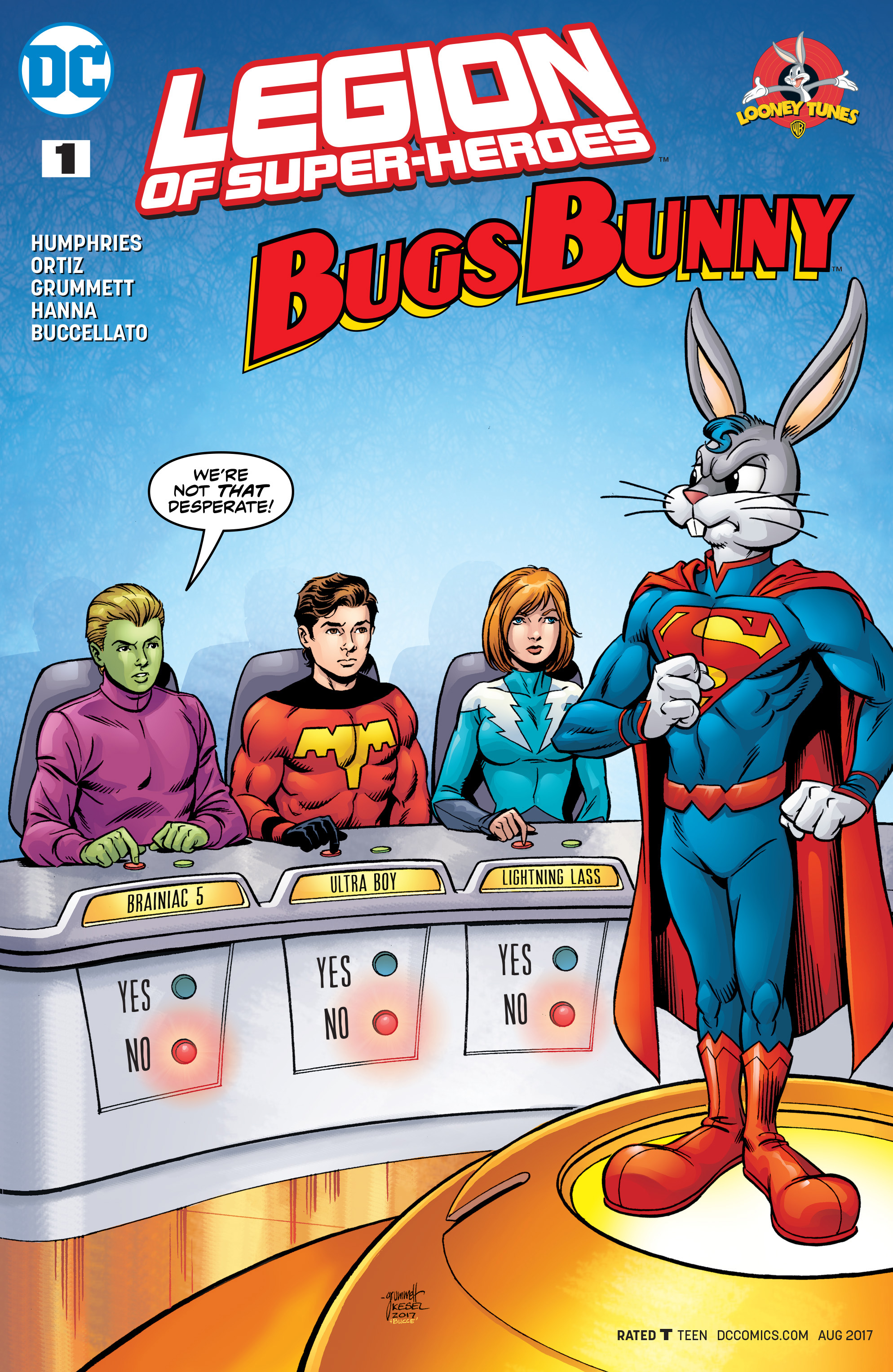 LEGION OF SUPER HEROES BUGS BUNNY SPECIAL #1