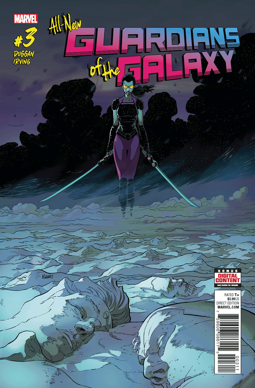 ALL NEW GUARDIANS OF GALAXY #3