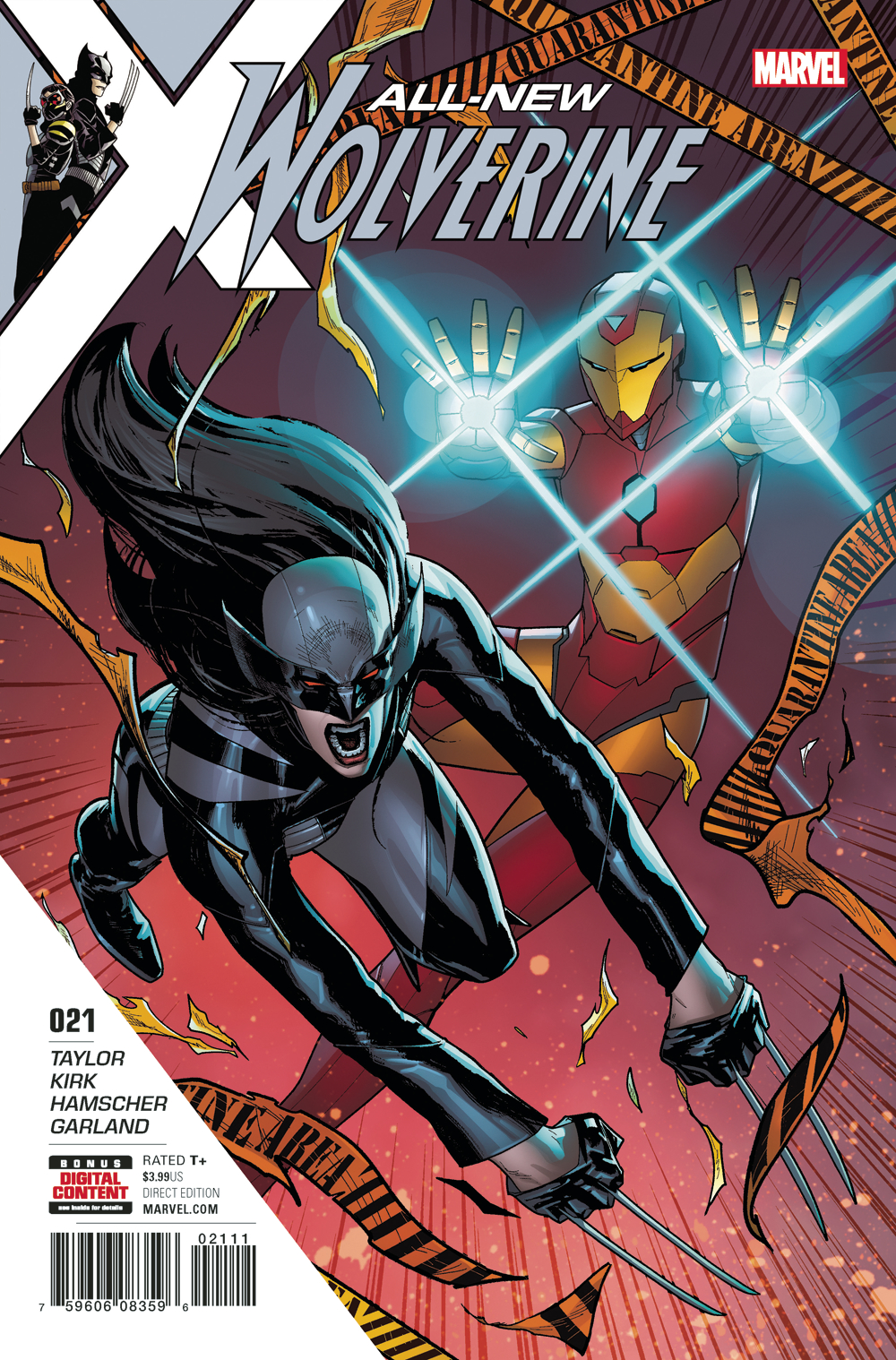 ALL NEW WOLVERINE #21