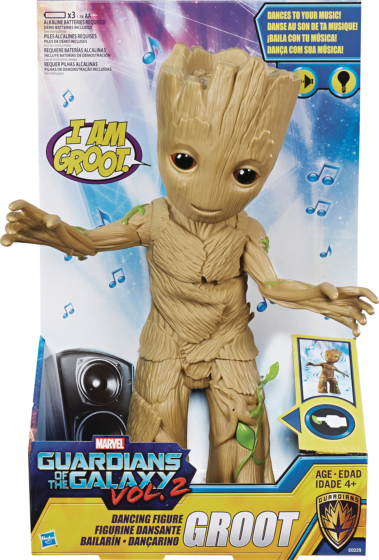MARVEL GOTG DANCING GROOT 12IN FEATURE AF CS