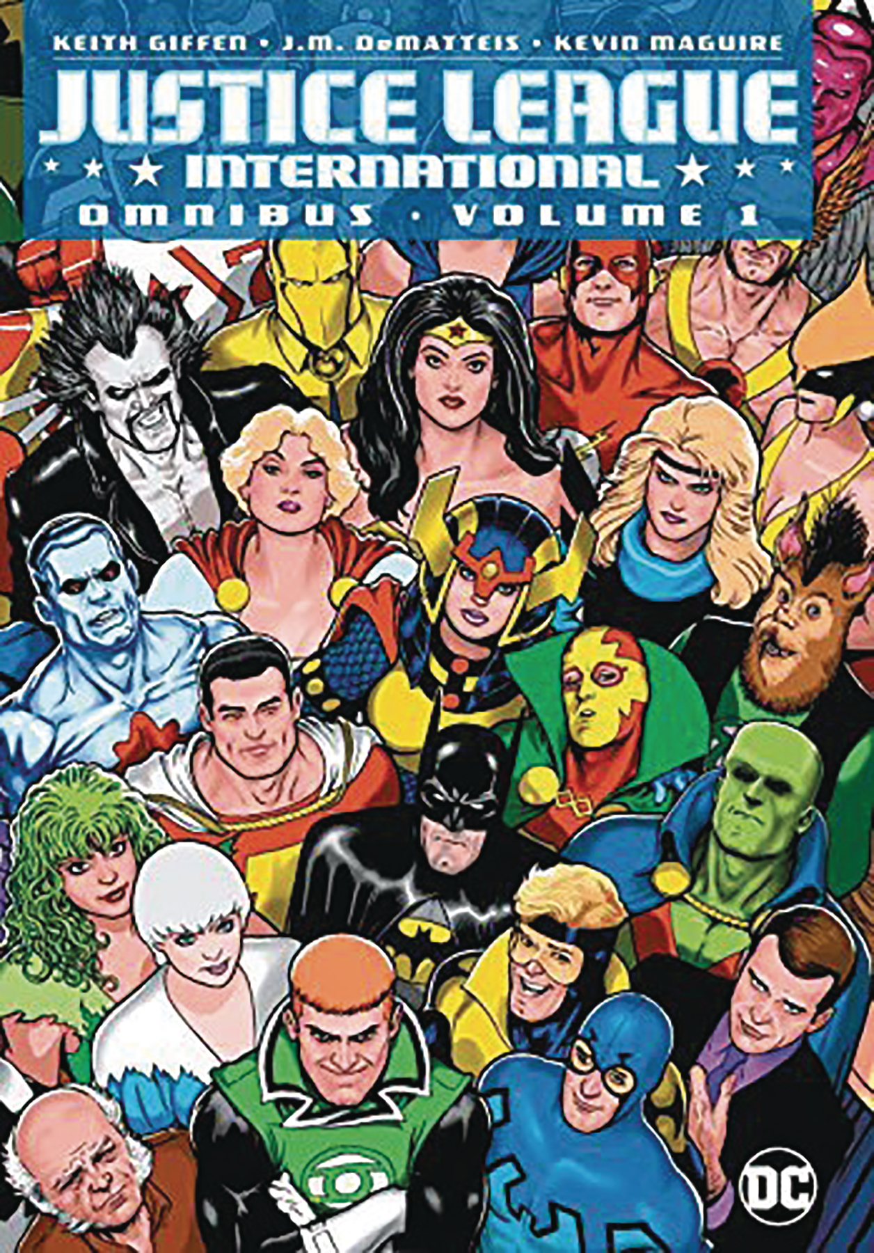 JUSTICE LEAGUE INTERNATIONAL OMNIBUS HC VOL 01