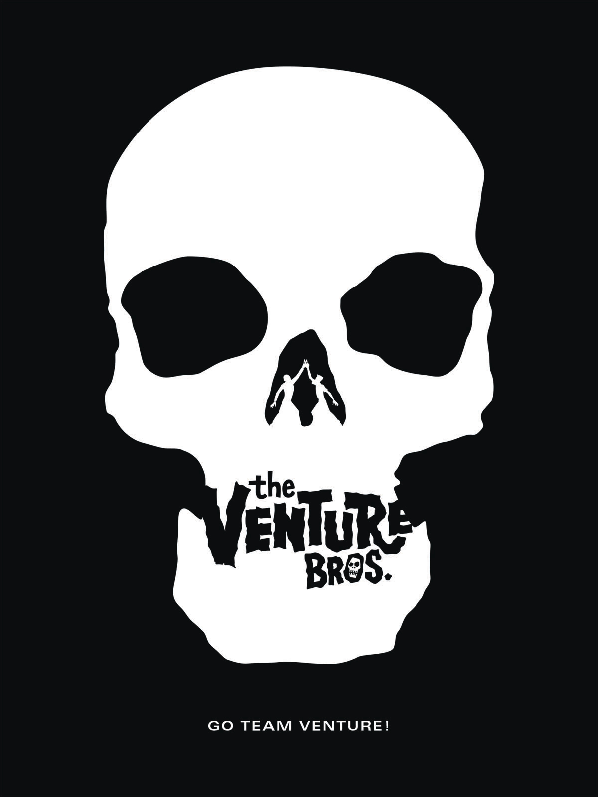GO TEAM VENTURE HC ART & MAKING OF VENTURE BROS (RES)
