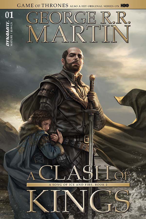 GAME OF THRONES CLASH OF KINGS #1 CVR B VILLENEUVE