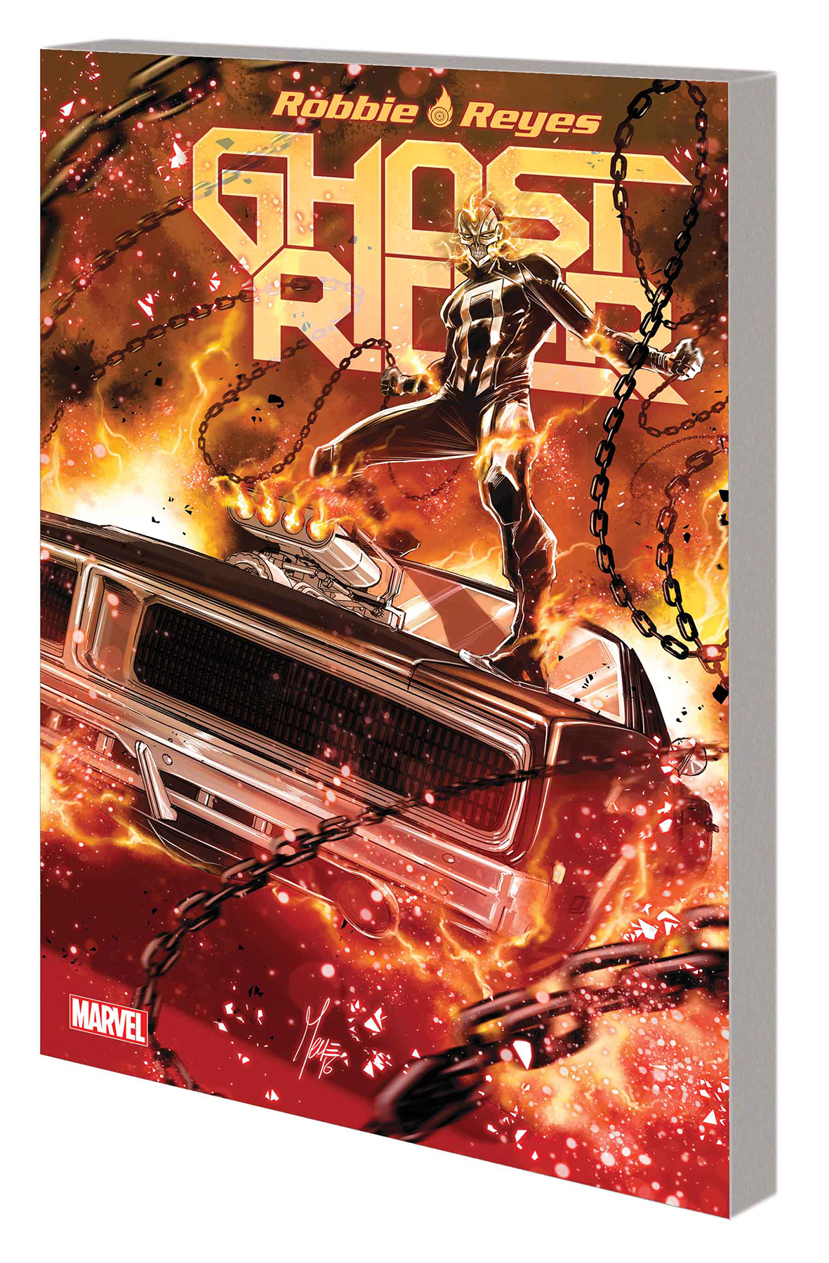 GHOST RIDER TP VOL 01 FOUR ON THE FLOOR