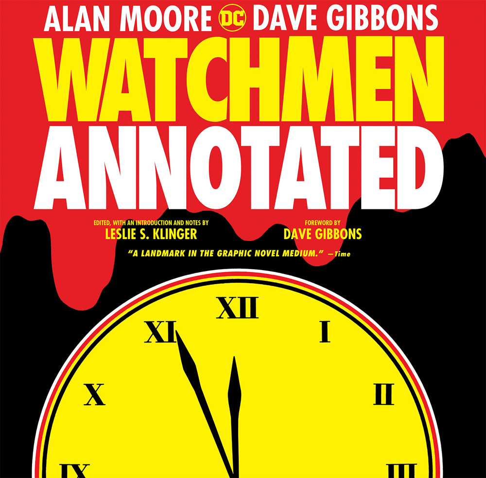 WATCHMEN THE ANNOTATED EDITION HC
