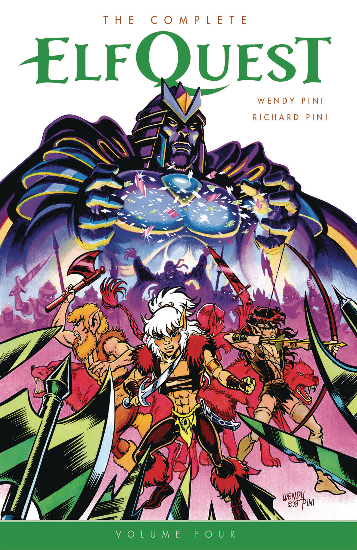 COMPLETE ELFQUEST TP VOL 04