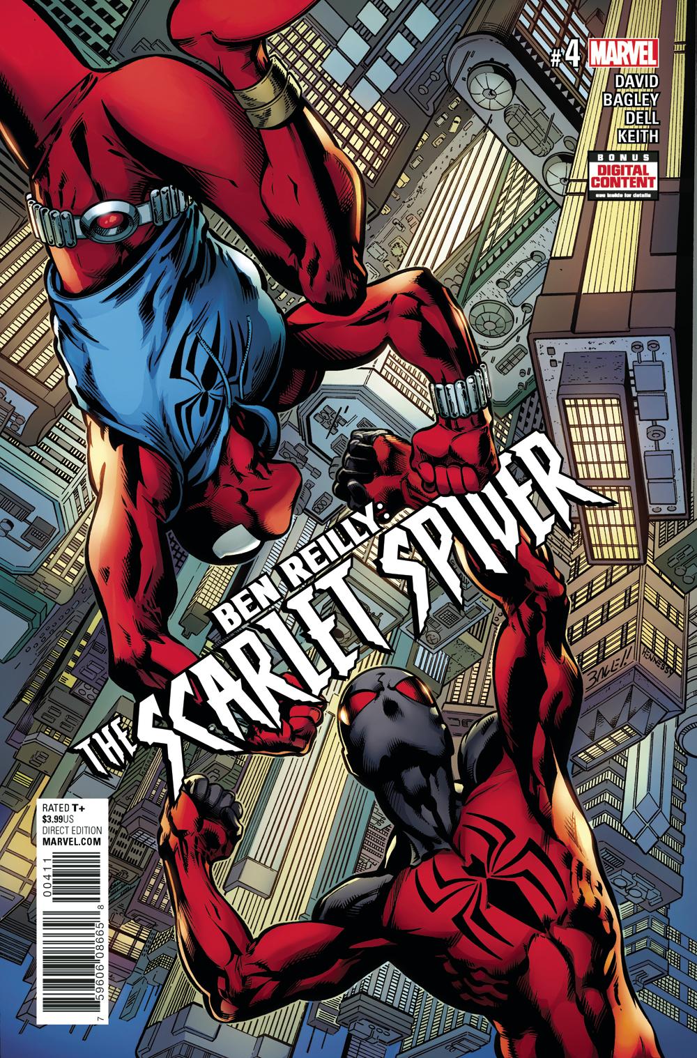 APR171010 - BEN REILLY SCARLET SPIDER #4 - Previews World
