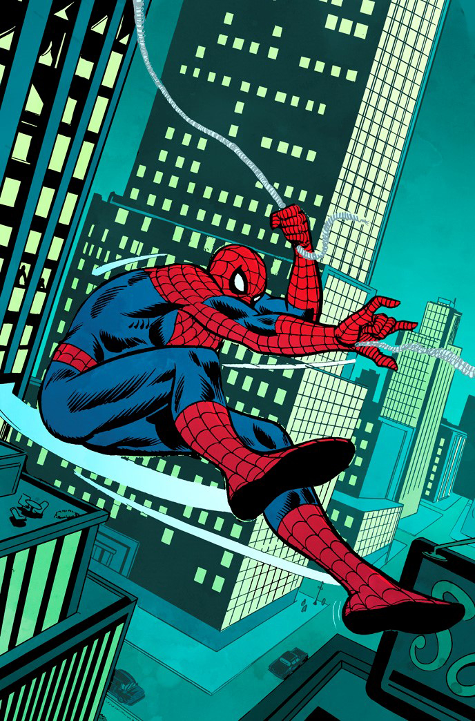 PETER PARKER SPECTACULAR SPIDER-MAN #1 ANDRU REMASTERED VAR