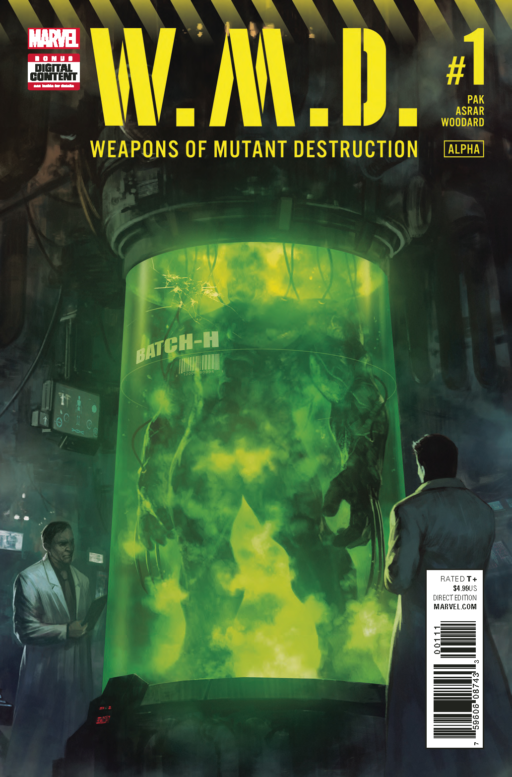 WEAPONS OF MUTANT DESTRUCTION #1 WMD