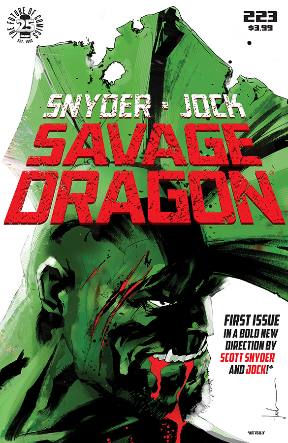 SAVAGE DRAGON #223 CVR B APRIL FOOLS VAR
