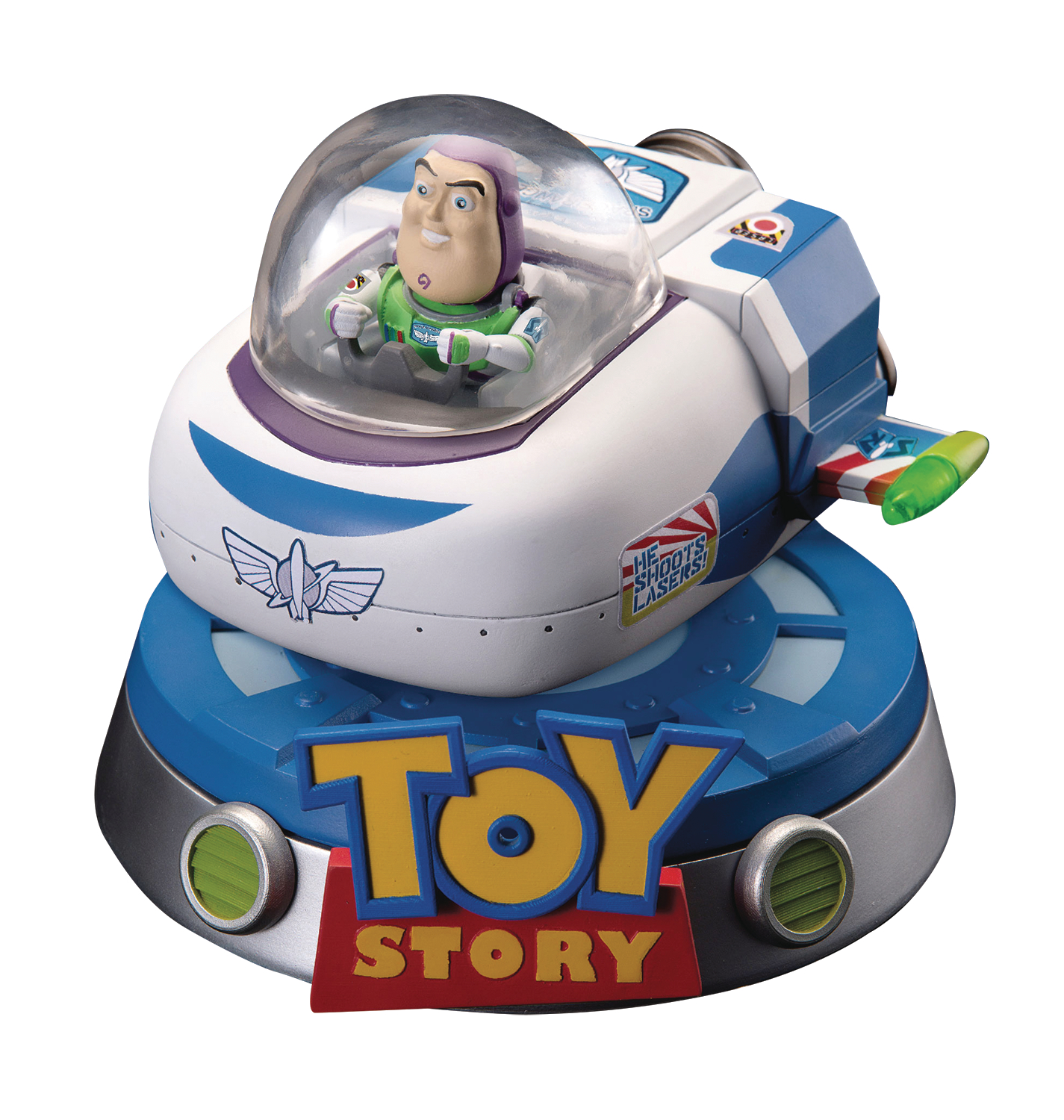 TOY STORY EA-032 BUZZ FLOATING SPACESHIP PX